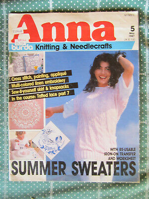 Vintage Magazine Anna Number 5 May 1987    *** Look ***