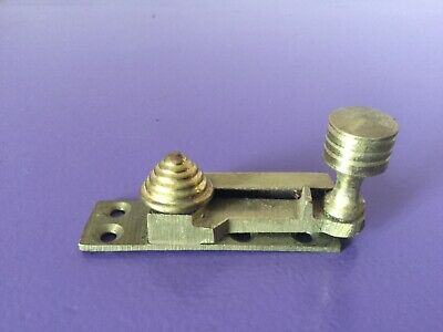 Vintage Brass Sash Window Latch Lock Catche Fastener Vintage Old Beehive