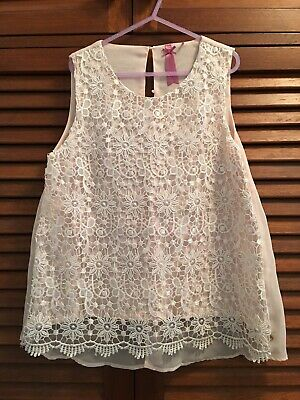 8 x Girls clothes summer bundle size 8-9-10 Tops Shorts Dresses Great Condition