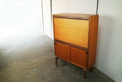 1960's British mid century writing desk / bureau by Beaver and Tapley