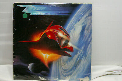 "ZZ Top Afterburner ORIG Vintage 12"" 33RPM LP Rock Vinyl Album"