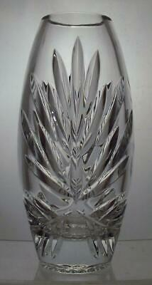 Vintage Royal Doulton Crystal Cut Glass Vase Keswick Pattern Perfect Present
