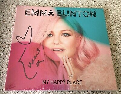 Emma Bunton - My Happy Place CD SIGNED / AUTOGRAPH Spice Girls, Robbie Williams
