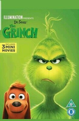 The Grinch [DVD] [2018] NEW