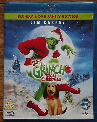 Dr. Seuss How The Grinch Stole Christmas - Blu Ray and DVD Edition