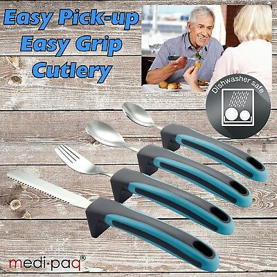 Medipaq Easy Pickup Grip Handle Large Cutlery Arthritis Elderly Disability Aids