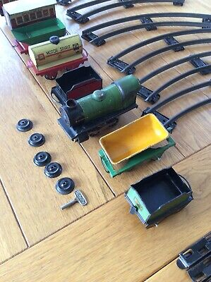 Antique Toy Train Set