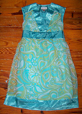 BNWT Amy's Closet Floral Printed Woven Flowy High Size 8 Low Dress For Girls