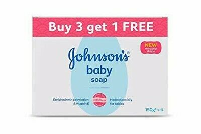 Johnson's Baby Soap baby's skin has a natural skin's 150g (Buy 3 Get 1 Free)