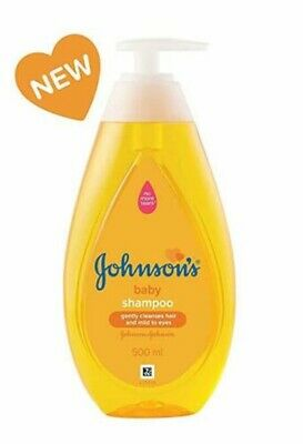 Johnson's Baby No More Tears Baby Shampoo now more gentle to give her care(500m)