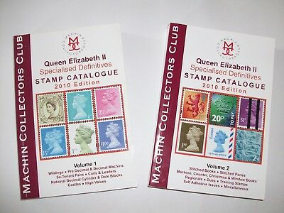 QE2 Specialised Definitives Stamp Catalogue 2010 Machin Collectors Club Ref R63
