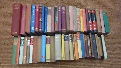 Collection of 52 hardback vintage books, look good in your bookcase!