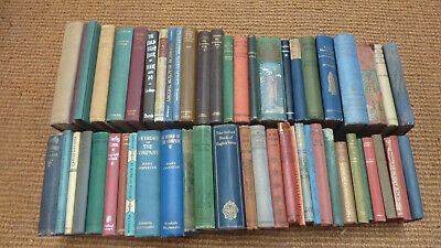 Collection of 54 hardback vintage books, look good in your bookcase!