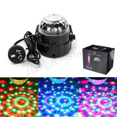 LED Effect Disco Light Stage DJ Laser Lights Club Party Crystal Magic Ball