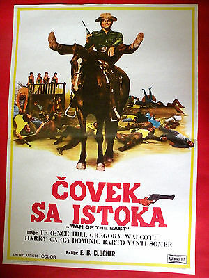 Man Of The East 1972 Terence Hill Yanti Somer Barboni Western Exyu Movie Poster