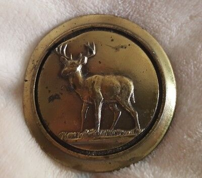 Great American Buckle Co. Chicago Limited Edition 1977 Deer (Buck) Belt Buckle