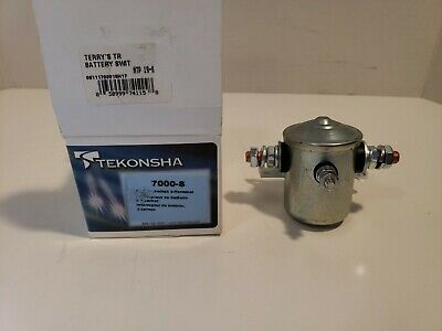 12 Volt Continuous Duty Tekonsha 7000 Battery Switch 3 Terminal