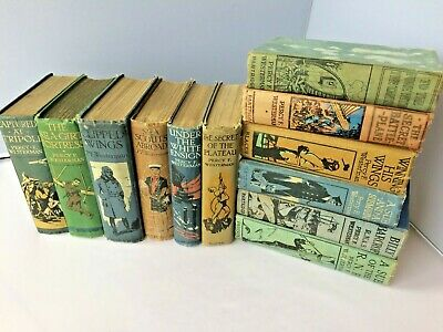 Job Lot 12 Antique Vintage Percy Westerman Books Display Shabby Chic Props Bar
