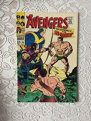 Marvel Comics Avengers # 40 1967 (VF)