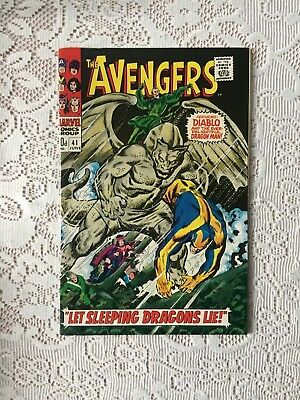 Marvel Comics Avengers # 41 1967 (VF-)