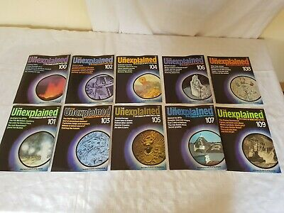 The Unexplained Mysteries Of Mind Space And Time Magazine Issues 100-109