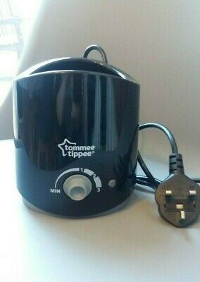 Tommee Tippee Electric Bottle and Food Warmer Black