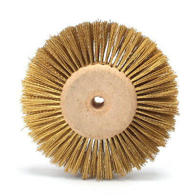 3Inch Copper Wire Abrasive Polishing Grinding Wheel Brush For Jewelry Buffing