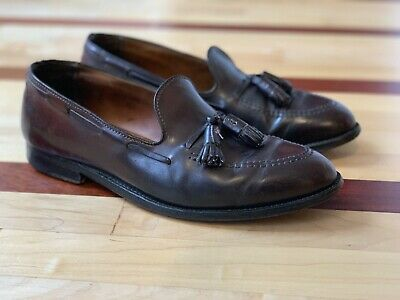 5bd89552a29a5d Alden Shell Cordovan Tassel Loafers Shoes 10.5 D 10.5D B D Brooks Brothers  986