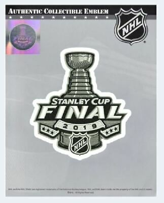 2019 Stanley Cup Final Jersey Patch Nhl Official Boston Bruins St. Louis Blues