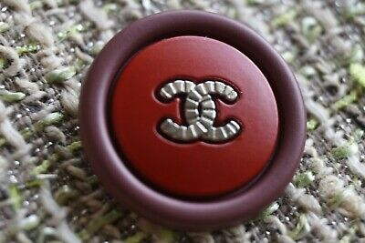 Chanel Buttons Lot 3 Size 22 Mm 0,9  Inch Metal