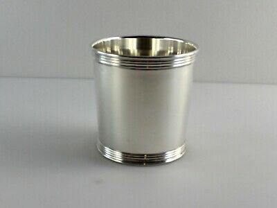 """Manchester 375 Small Sterling Silver Mint Julep Cup - 2 7/8"""" - No Monogram"""