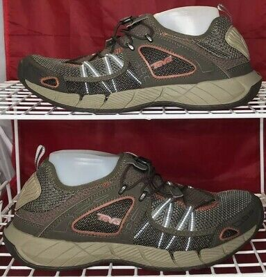 512c2b769 Teva Churn Bungee Cord Water Shoes Sport Mesh Athletic Sneaker Men s Size  10.5