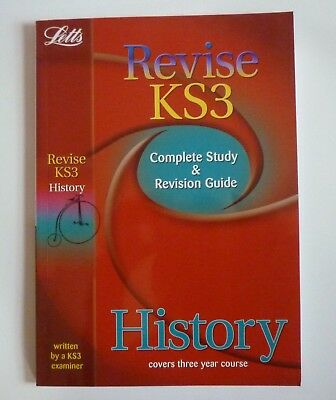 LETTS REVISE KS3 Complete Study & Revision Guide HISTORY
