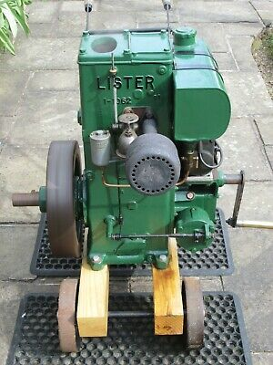 Lister D Type Stationary Engine with Trolley