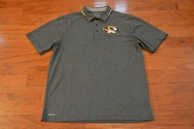 886227089 Men s University of Missouri Tigers Mizzou NIKE Dri-Fit Lightweight Polo  Shirt L