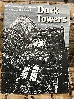 RARE VINTAGE BBC Schools Look And Read Book DARK TOWERS by Andrew Davies