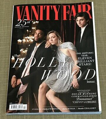VANITY FAIR #703 March 19' SAOIRSE RONAN, TIMOTHEE CHALAN. The Hollywood Issue.