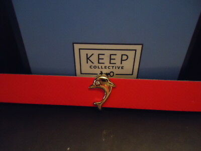 Keep Collective Gold tone Dolphin charm USED