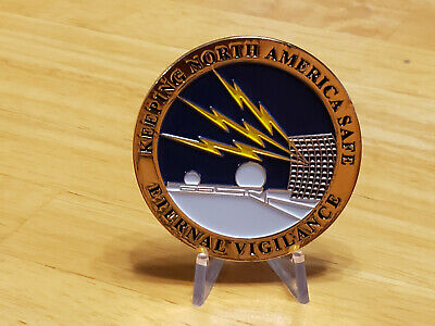 Dew line collectible challenge coin