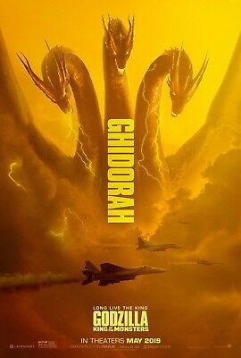 "GODZILLA KING OF THE MONSTERS 11""x17"" MOVIE POSTER PRINT #5"