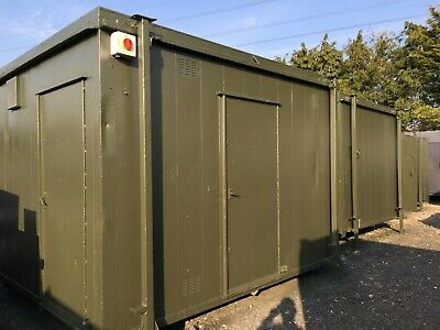 12 x 9ft 2+1 Anti Vandal Site Toilet / Toilet Block / Portable Toilet / Jack Leg
