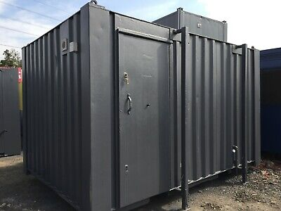 13x9ft Toilet & Shower Block 2 + 1/ SiteToilet / Anti-Vandal / Portable Toilet