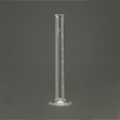 Corning Pyrex® #3024 Single Metric Scale, Glass Graduated Cylinder, 50ml - Each