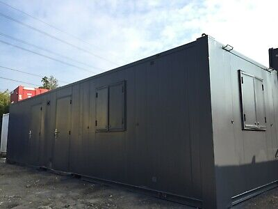 32X10Ft Anti Vandal Office / Canteen / Toilet & Shower 2+1+1 / Site Cabin /