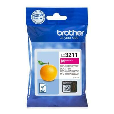 Brother LC-3211M 200pages Magenta cartouche d'encre - Cartouches (Brother,...