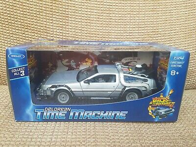 Welly Diecast Delorean 1:24 Scale Back To The Future II Time Machine. BTTF 2.