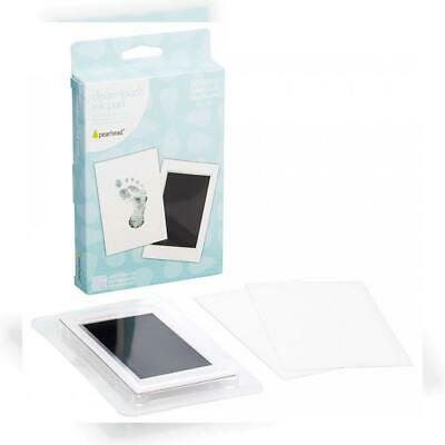 """Pearhead Newborn Baby Handprint or Footprint """"Clean-Touch"""" Ink Pad, 2 Uses,..."""