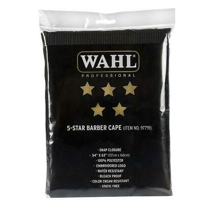 """""""Wahl Professional 5 Star Barber Cape #97791 Great for Stylists and Barbers..."""