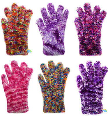 Children's Magic Gloves Boys & Girls Feather Space Dyed Designs Multi Pack