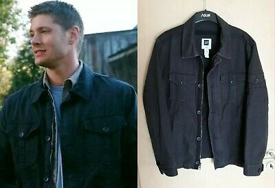 DEAN WINCHESTER SUPERNATURAL GAP Military Jacket Jacke Blue Blau Prop L